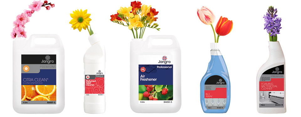 Quality cleaning products use quality perfumes that help make a long-lasting impression to anyone who smells them long after the cleaning process.