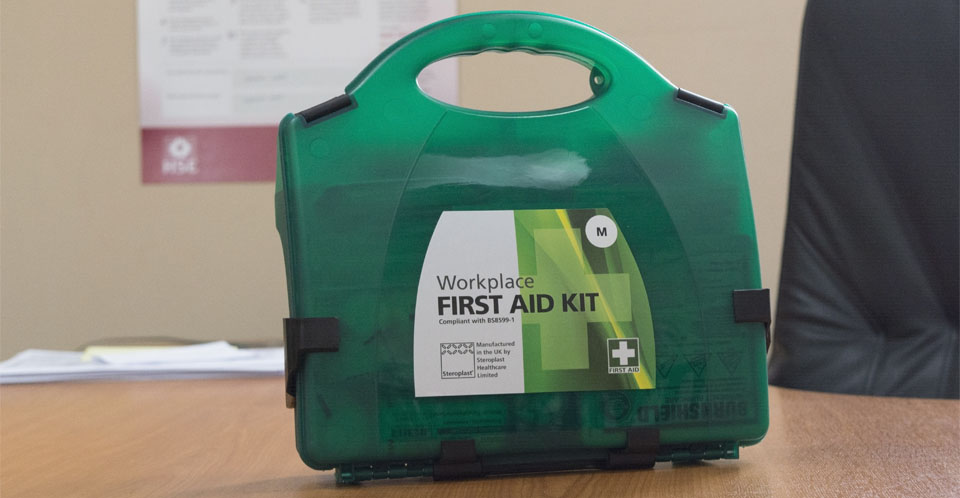 There is no mandatory list of contents for first-aid boxes. So what you decide to include should be based on an assessment of your first-aid needs for your workplace.